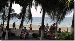 Ticos on beach (2)