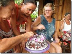 Birthday cake for Margo