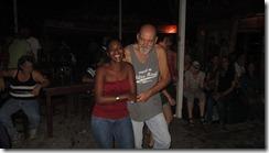 Friends dancing