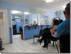 Waiting room at license place (1)