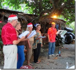 Carolers at The Point