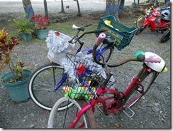 Christmas bikes