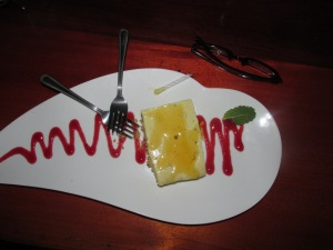 Passion Fruit Cheeseca